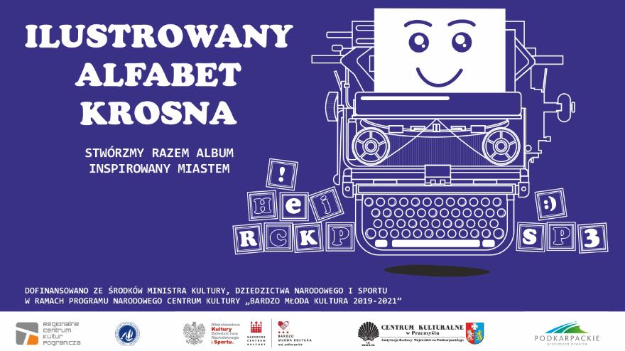 """""""Ilustrowany alfabet Krosna"""" - książka o mieście widzianym oczami dzieci"""