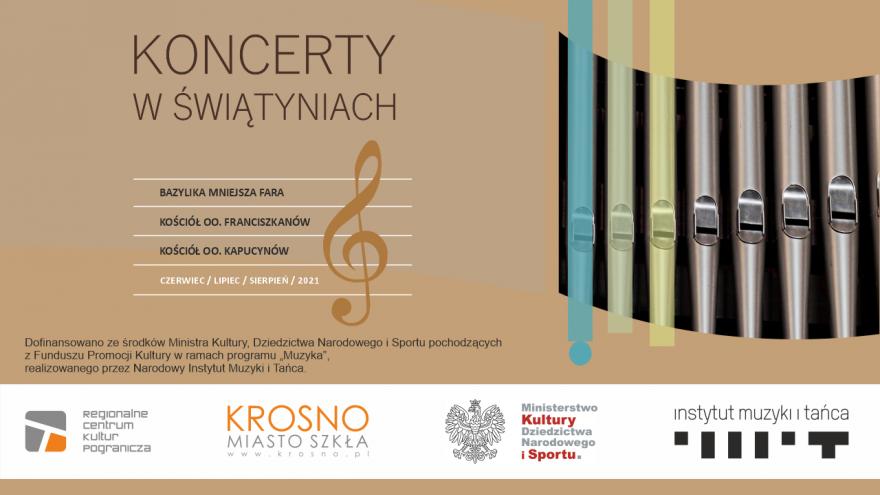 Koncerty w Świątyniach: Antyfony Maryjne i improwizacje organowe na ich temat (Chór Flores Rosarum, Marek Pawełek)