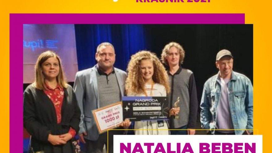 oficjalna strona konkursu wokalnego w kraśniku laureatka Natalia Bęben