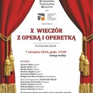 Letnia Scena na Rynku - X Wieczór z Operą i Operetką