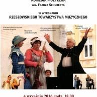 Komedia muzyczna Franciszka Schuberta - Domek trzech dziewcząt.