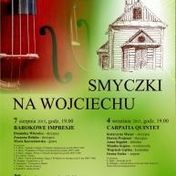 Smyczki na Wojciechu