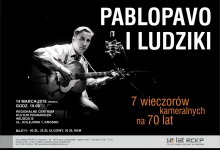 KONCERT PabloPavo i Ludziki W RAMACH 7 WIECZORÓW KAMERALNYCH NA 70 LAT
