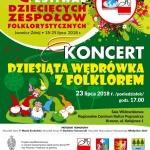 10. Polonijny Festiwal Dziecięcych Zespołów Folklorystycznych