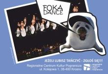 XIV KONKURS TAŃCA FOKA DANCE W CZASIE ARTYSTYCZNYCH ZIMOWYCH FERII Z RCKP