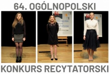 64. Ogólnopolski Konkurs Recytatorski - eliminacje rejonowe - wyniki