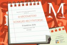 III KROŚNIEŃSKI KONKURS RECYTATORSKI