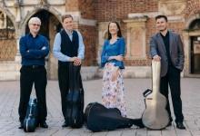 Smyczki na Wojciechu: Cracow Guitar Quartet