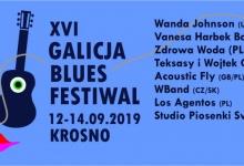 Trzy dni XVI Galicja Blues Festival 12-14 września 2019