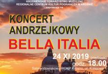 KONCERT ANDRZEJKOWY BELLA ITALIA