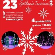 Kolejność prezentacji 23 Mikołajkowych Spotkań Tanecznych