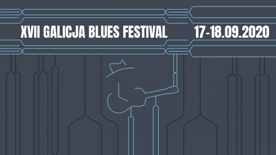 17. Galicja Blues Festival, zajawka, projekt Paweł Fiejdasz