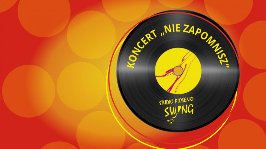 zajawka, koncert pożegnalny wokalistów Studia Piosenki SWING 2020, projekt Marek Jastrzębski