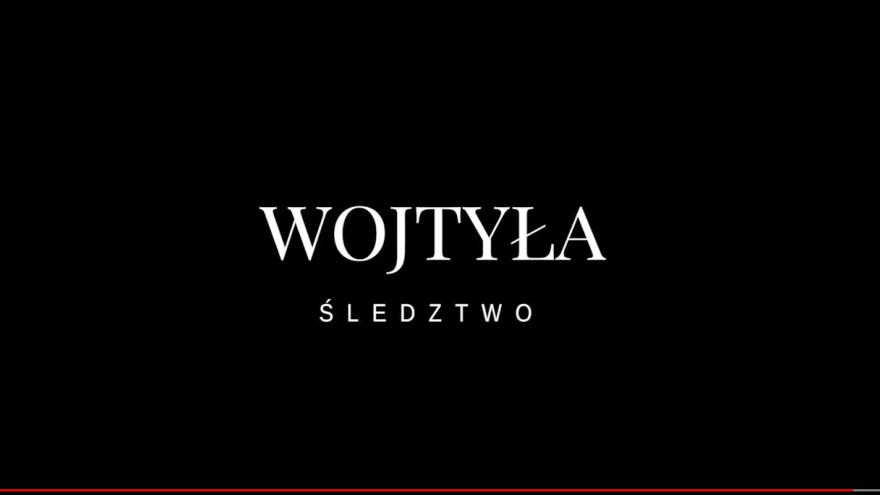 oficjalna zajawka dystrybutora filmu WOJTYŁA ŚLEDZTWO
