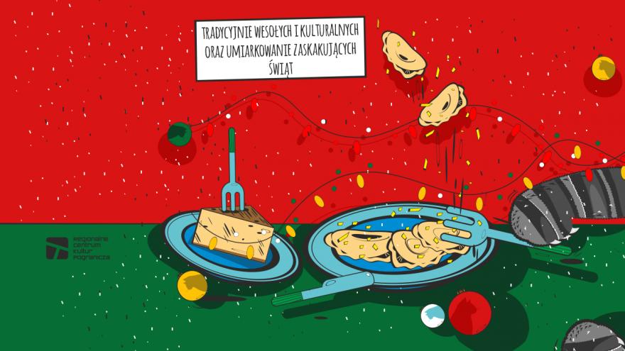 Życzenia świąteczne, projekt RCKP