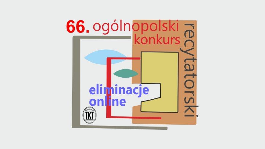 66. Ogólnopolski Konkurs Recytatorski - grafika