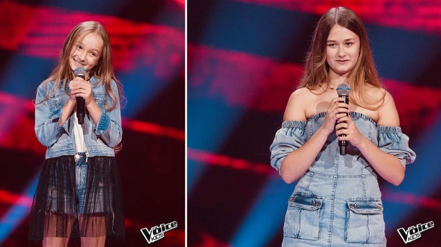 Marysia i Julia Błaszczyk w kolejnym etapie programu The Voice Kids!